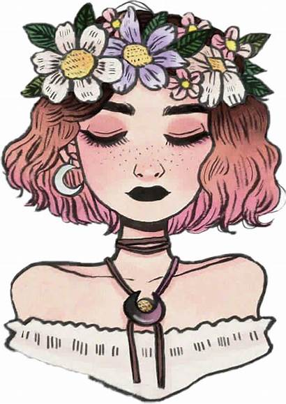 Kawaii Clipart Girly Drawing Aesthetic Transparent Tumblrgirl
