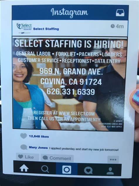 select staffing recruitment agencies 969 n grand ave