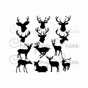 Doe Deer Silhouette images