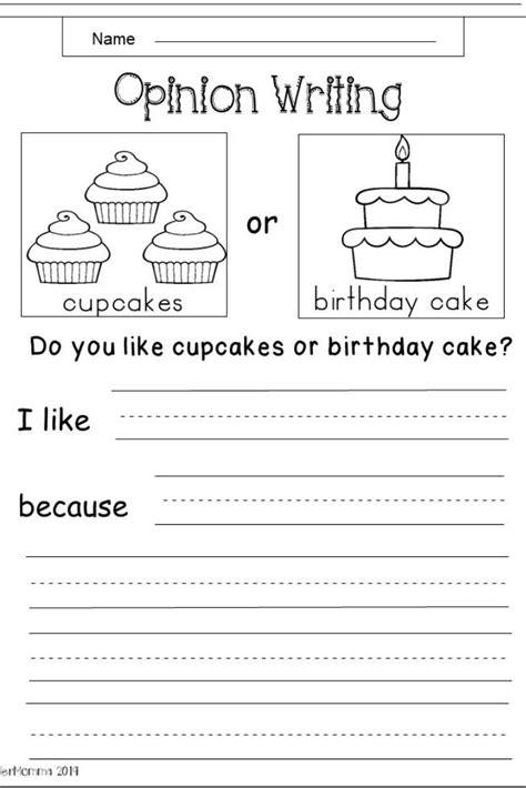 printable writing worksheets  st graders
