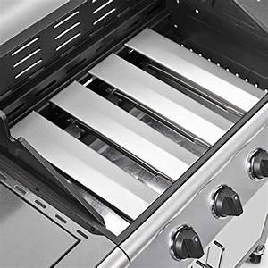 Edelstahl Gasgrill Test : gasgrill bbq grillwagen 4 edelstahl brenner gas grill seitenkocher grill silber grau neu gas ~ Buech-reservation.com Haus und Dekorationen