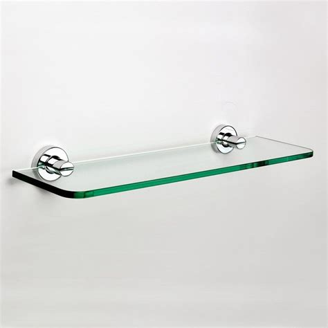 salle de bain tablette en verre