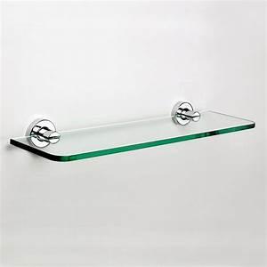 Tablette Pour Salle De Bain : salle de bain tablette en verre ~ Melissatoandfro.com Idées de Décoration