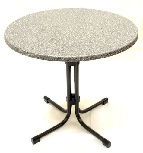 new ac 80cm garden bistro table granite top