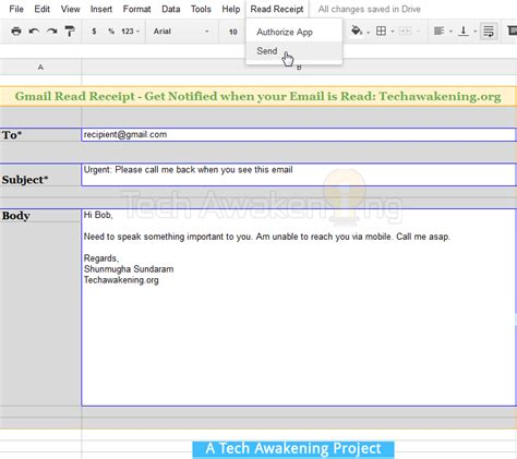 get read receipt notification for your emails in gmail
