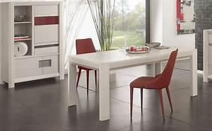 une table de salle a manger design par meubles girardeau With salle À manger contemporaine avec chaise de sejour design