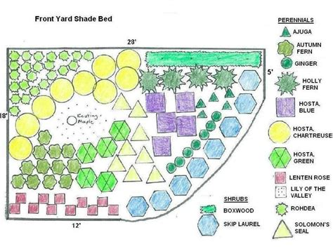 plant by numbers garden design how to landscape a shady yard diy