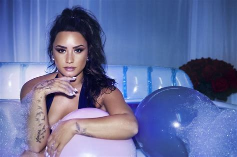 Demi Lovato Photoshoot For Sorry Not Sorry July Celebrity Uncensored