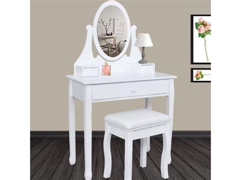 25 vanity with coiffeuse de maquillage en bois avec miroir et