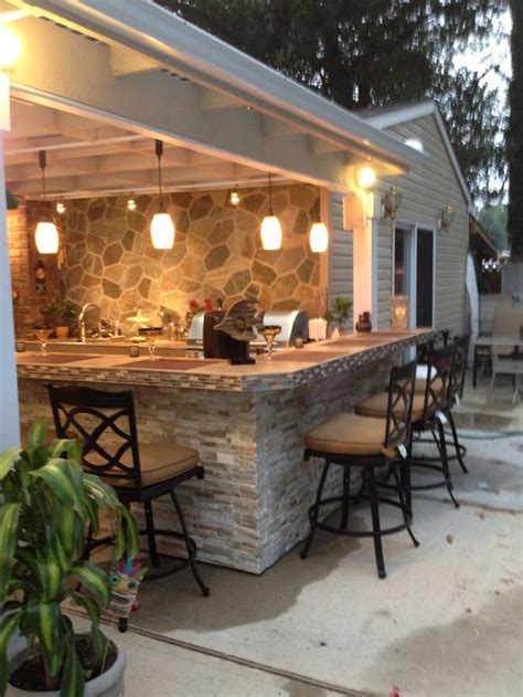 covered patio bar ideas best 25 outdoor kitchen patio ideas on