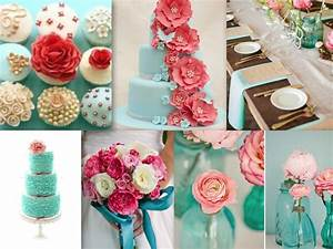 gallery coral and turquoise wedding party With coral and turquoise wedding ideas