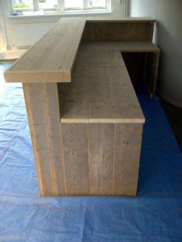 balie steigerhout  crossfit box ideas pinterest