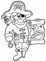 Treasure Coloring Map Pirate Awesome Maps Pages Kidsplaycolor Pirates Adult sketch template
