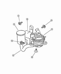 New Genuine Mopar 4891423ab Leak Detection Pump  2 Available