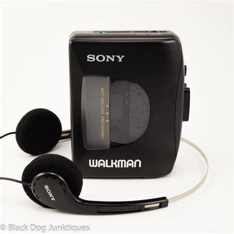 Cassette Walkman by Sony Walkman Cassette Player With Headphones Wm Ex10 Belt