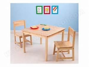 Ensemble Table Et Chaise Enfant KIDKRAFT Table 2 Chaises