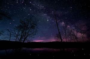 beautiful, galaxy, night, photograph, sky, stars - image ...