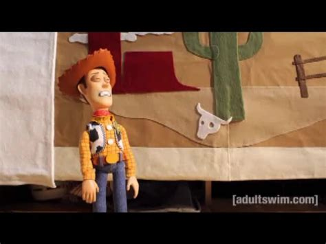 Robot Chicken Toy Story Andy Has Trully Grown Up Video