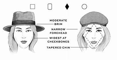 Face Hat Diamond Shape Hats Round Faces