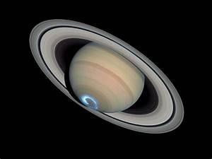 Saturn U0026 39 S Dynamic Aurorae 1  Jan 28  2004