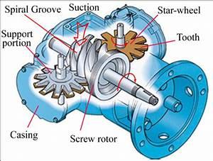 Structure Of A Single Screw Compressor