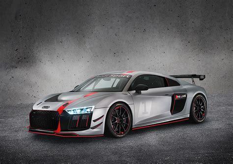 2017 Audi R8 Gt4 Unveiled, It's The Race Version That's