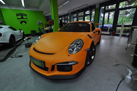 porsche  gt rs  retro   racing orange