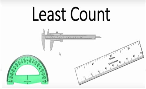 How To Find Least Count Of Vernier Calipers