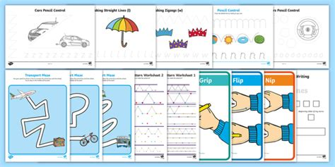 new junior infants starting school pre writing activity pack back to
