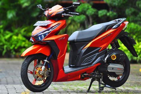 Modif Vario Standar by 50 Gambar Modifikasi Honda Vario 150 Esp Keren Elegan