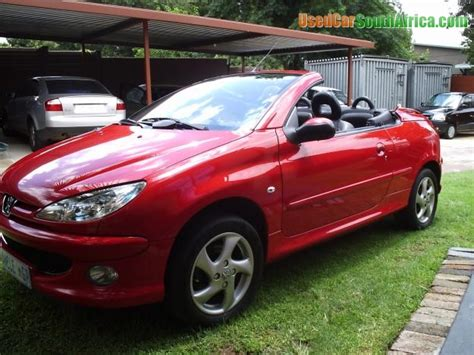 peugeot sa used cars 2006 peugeot 206 206cc hardtop convertable used car for