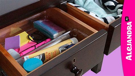 How To Organize Your Nightstand Or Bedside Table  Youtube