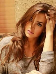 30 Caramel Brown Hair Color Long Hairstyles 2017 Long