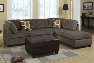 radford ash reversible microfiber sectional sofa steal a
