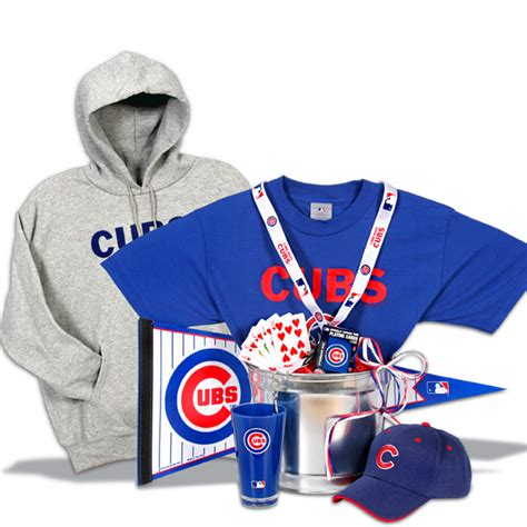 gifts for cubs fans unique gift baskets by gourmetgiftbaskets com