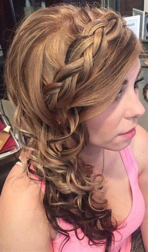 best 25 side curly hairstyles ideas on pinterest side