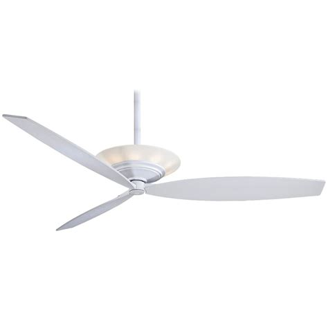 60 ceiling fans with light and remote minka aire f737 wh moda white 60 quot ceiling fan w light