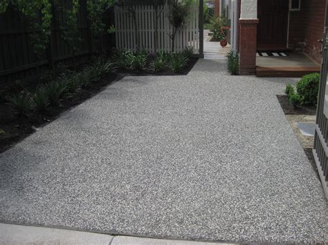Exposed Aggregate Driveway Pictures  Google Search. Black Dresser. Linon Home Decor Products Inc. Shower Room Design. Cristallo Quartzite. Greige Carpet. Rustic Wooden Ladder. Mustard Seed Interiors. Bathroom Sliding Door