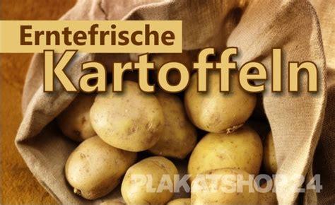 werbung fuer frische kartoffeln aktuelles plakatshop