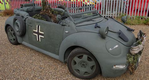prepare  invade poland   wwii inspired vw beetle