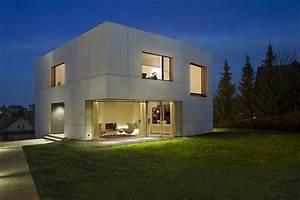 la maison cube une maison moderne assez originale maison With photo maison cube moderne