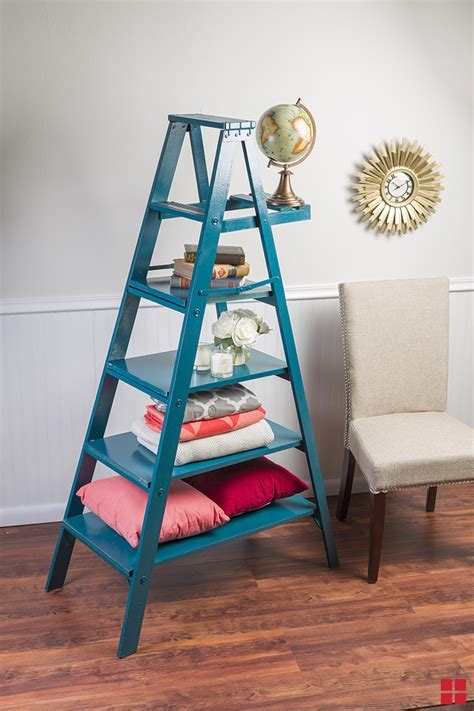 How to Make a Ladder Shelf