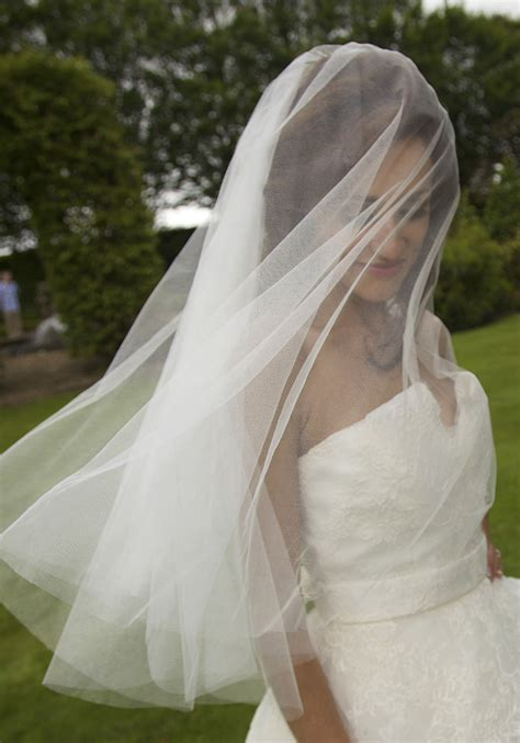 The Wedding Stationers Husband Ann Guise Silk Wedding Veils