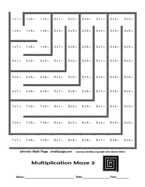 worksheet works multiplication maze worksheet works multiplication maze addition math maze