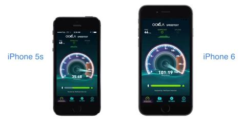 iphone speed iphone 6 lte speed test