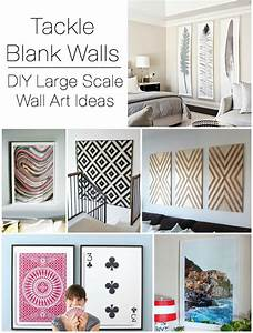 Decorating large walls blank wall solutions making