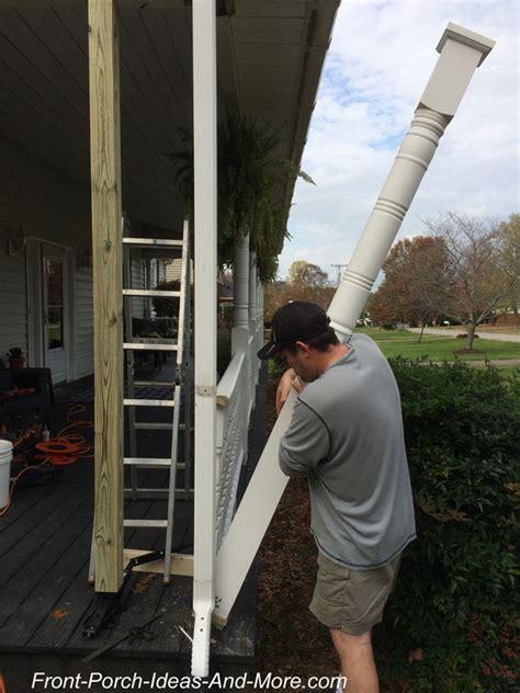 replace  porch column  easy