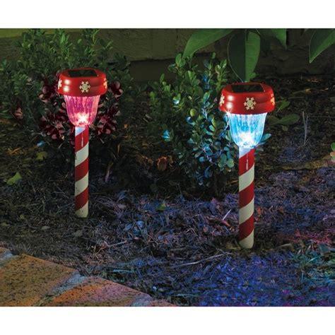 christmas solar walkway lights lytworx 26cm candy stripe solar path light 22518