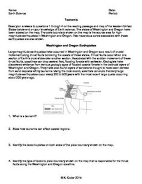 worksheet drainage patterns editable earth science choice and homework sheet