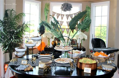 diy cuisine safari style soiree source list 2 free printables